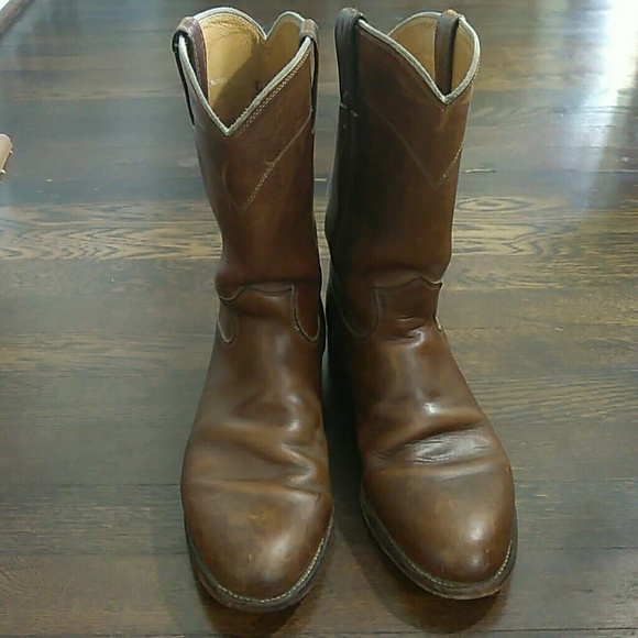76a1633c18984 Justin Boots Shoes | Justin Mens Classic Roper Western Boots 3408 ...